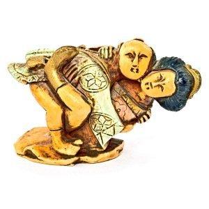 Statuette Couple Japonais Ivoire