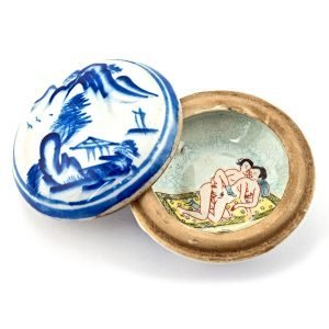 Porcelaine de Chine Erotique
