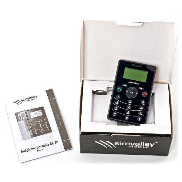 Simvalley MOBILE Mini-Handy « RX-80 Pico V.3 »