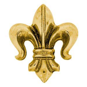 Solid Brass Paperweight – Fleur de Lis