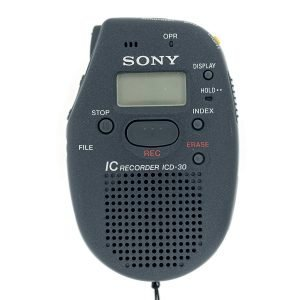 Sony – ICD-30 Dictaphone