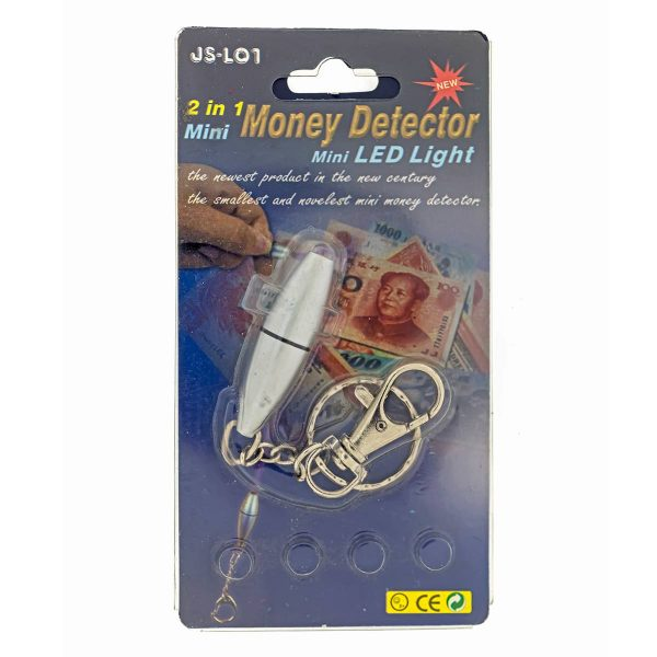 Money Detector 2 in 1 – Mini LED Light