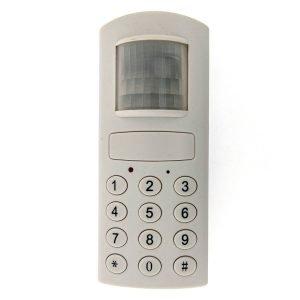 Alarme avec détecteur de mouvement à piles