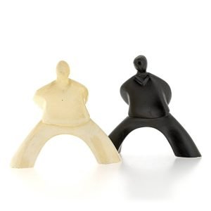 2 bonhomme statuette