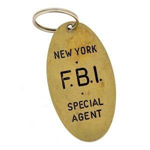 porte-clés FBI