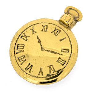 montre presse-papier Solid Brass Paperweight – Montre