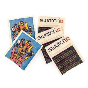 Swatch sachet de thé