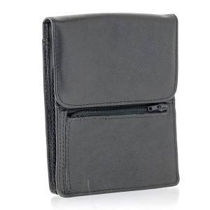 pochette sac cuire noir