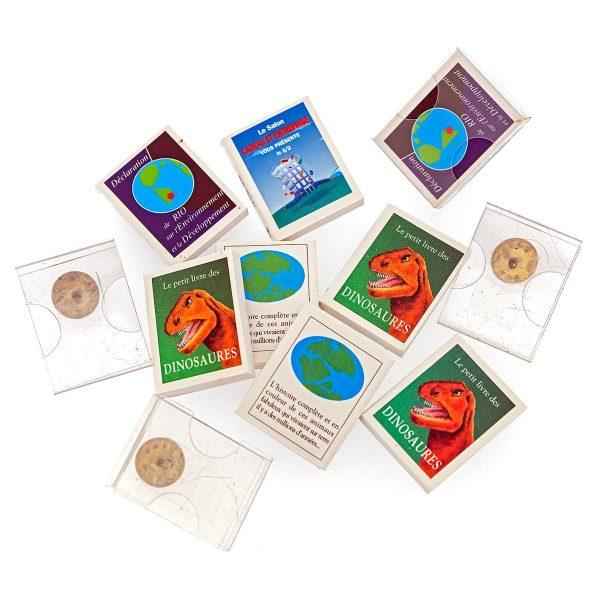Livres miniature Pins