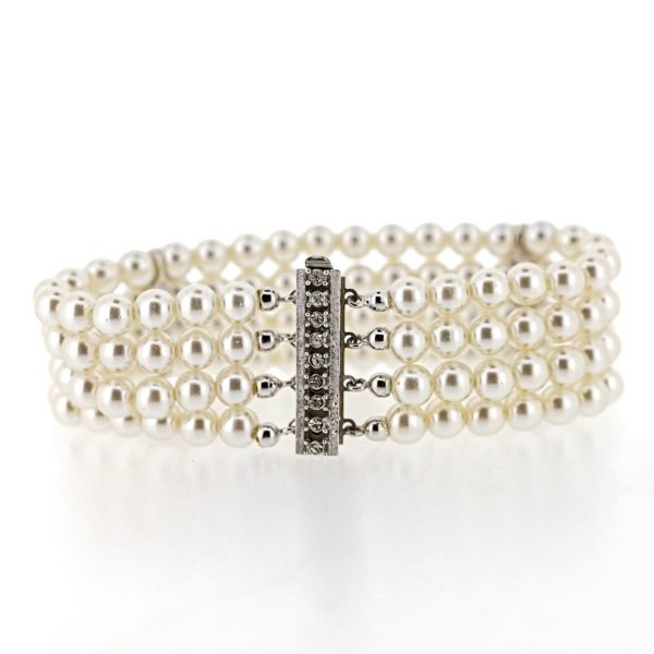 Bracelet Perles Art Déco