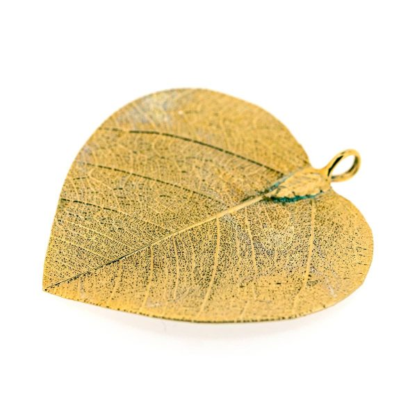 Pendentif Feuille d'Or