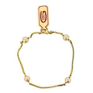 Bracelet Perle Or