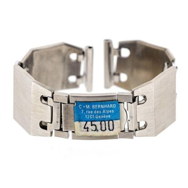 Bracelet montre acier