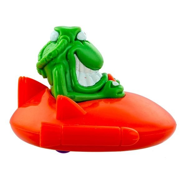 Soucoupe volante avec roues