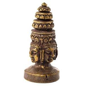 Statuette 4 visages de Buddha