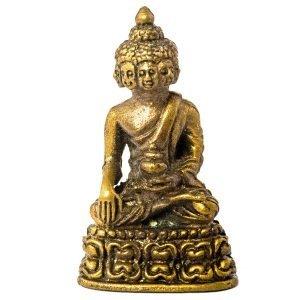 Statuette 8 visages de Buddha