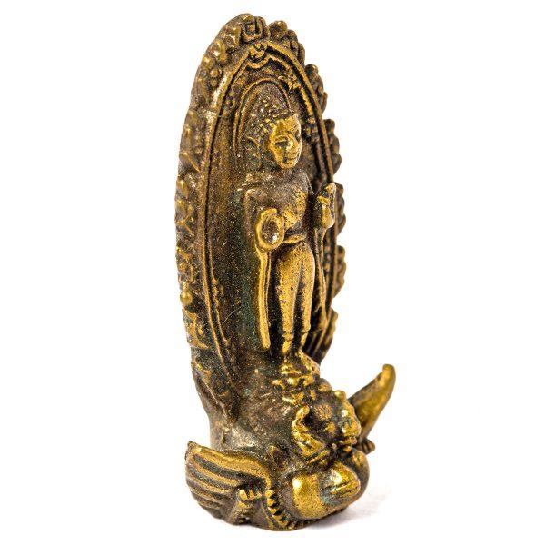 Statuette Buddha sur dragon