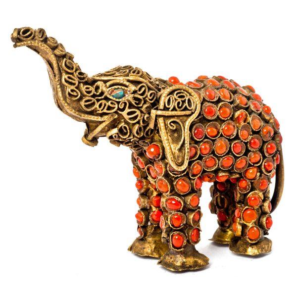 Statuette Elephant laiton