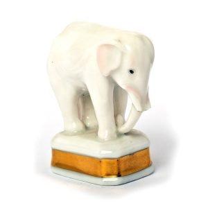 Statuette Elephant porcelain