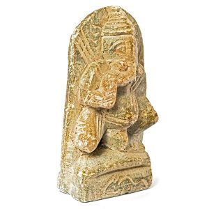 Statuette Elephant pierre Inde
