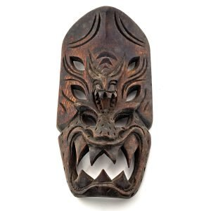 Headhunters of Philippines TRIBAL MASK Dragon Demon Ifugao Igorot Bontoc wood