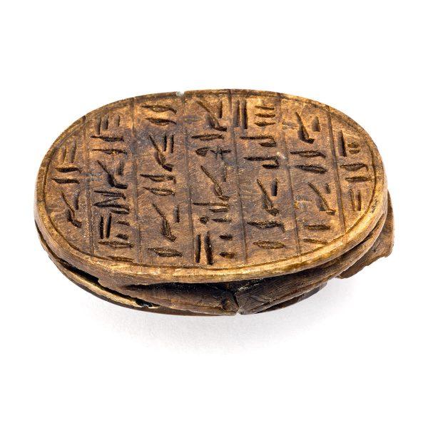 Scarabée Egyptien en pierre