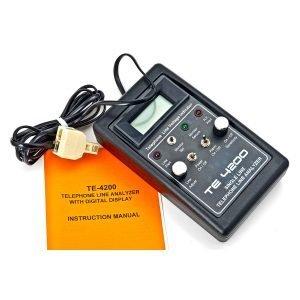 TE 4200 Single Line Telephone Line Analyzer