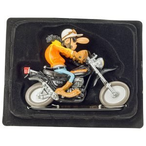 Joe Bar Team – Statuette – Suzuki Apache Paul Chotte N°29