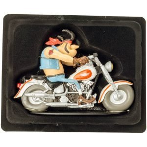 Joe Bar Team – Statuette – Hercule Butter – Harley-Davidson 1340