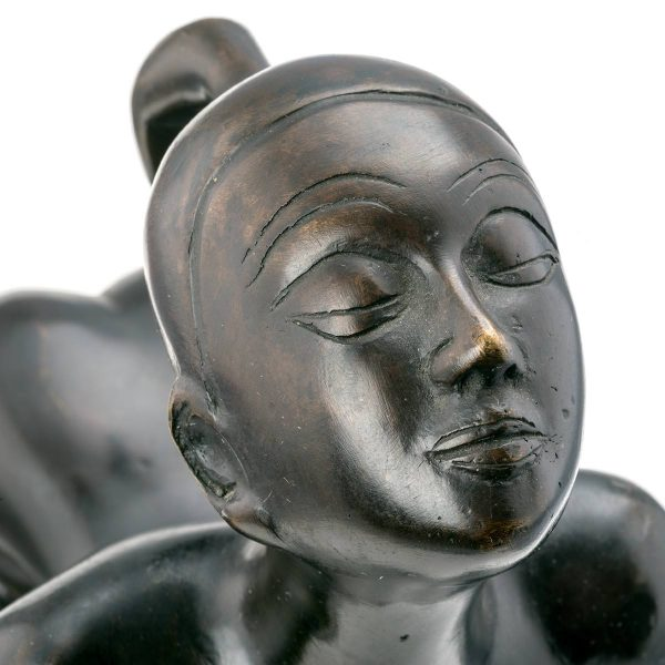 Statue de Femme Nue en fer
